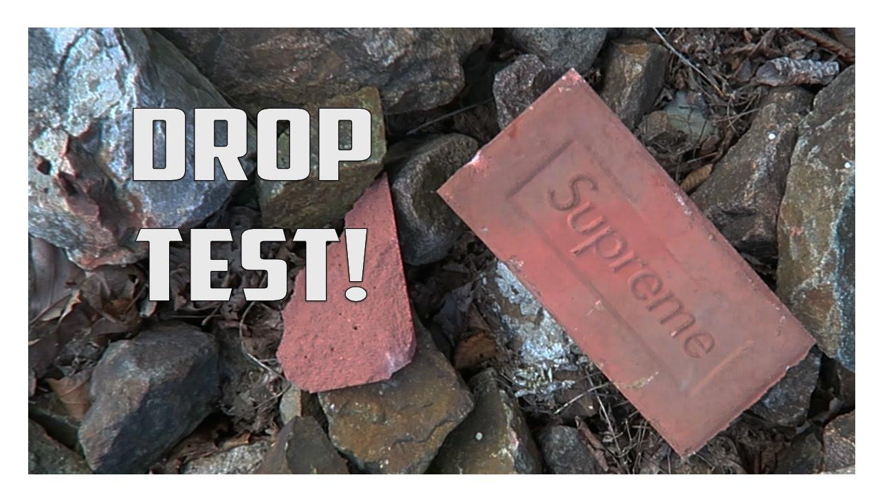 Supreme Brick DROP TEST