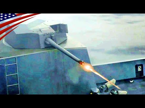 Bushmaster II 30mm Chain Gun Firing : USS Green Bay Deploy in East China Sea - ブッシュマスターII 30mm機関砲発射