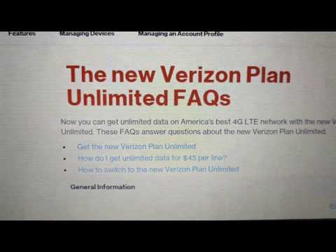 A Heavy / Power Users Thoughts on the NEW 2017 Verizon Wireless Unlimited Plan