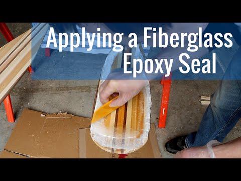 Applying a Fiberglass Epoxy Seal