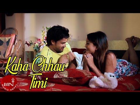 New Nepali Video 2015 Kaha Chhau Timi by Amrit Bhandari HD