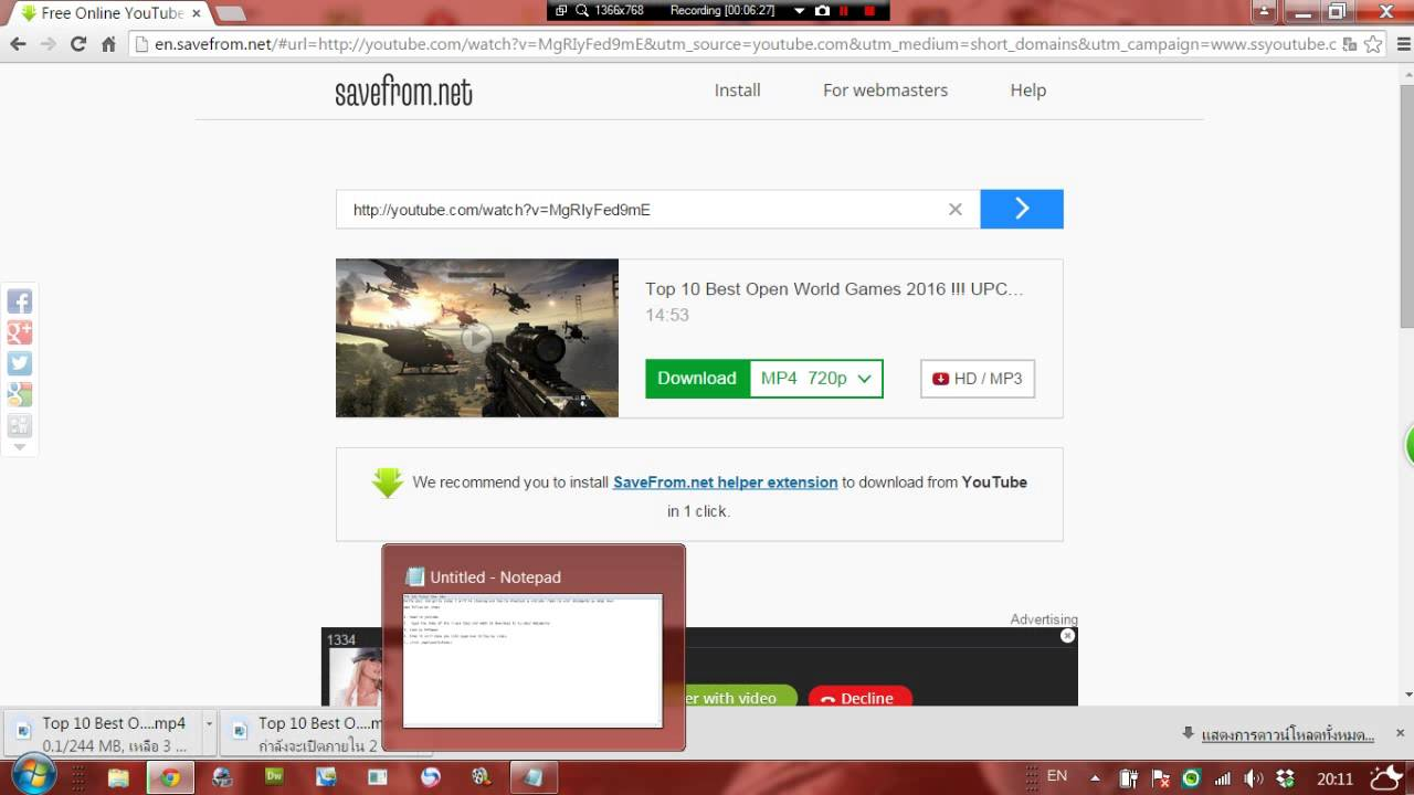 download youtube videos online 720p