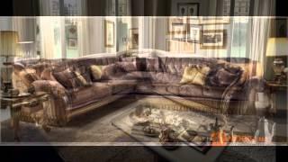 видео Большие диваны для гостиной италия