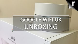 Google WiFi UK Unboxing, Setup and App Review