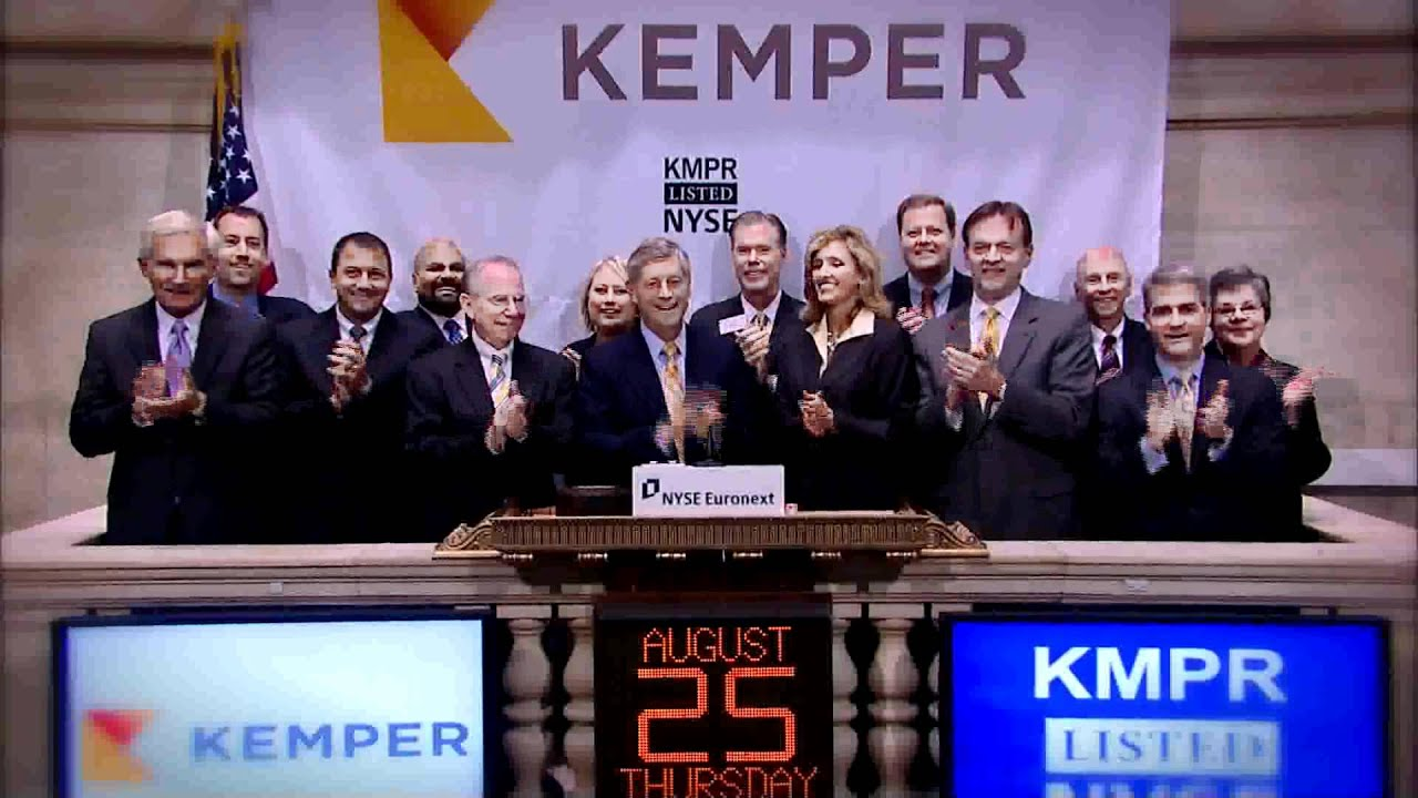 25 august 2011 unitrin celebrates name change to kemper and rings the nyse opening bell youtube. Black Bedroom Furniture Sets. Home Design Ideas