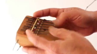 Kalimba with thinned wood/Original scale : Ituri -