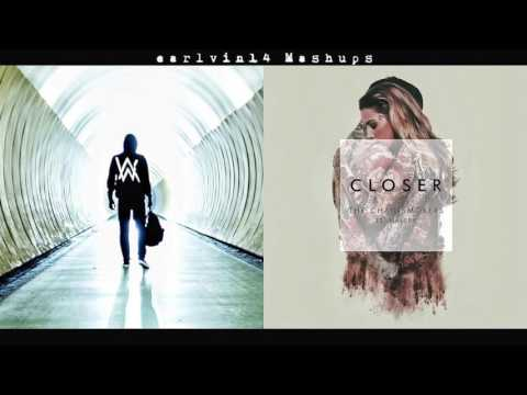 Faded vs  Closer Mashup   Alan Walker, The Chainsmokers & Halsey   earlvin14 OFFICIAL