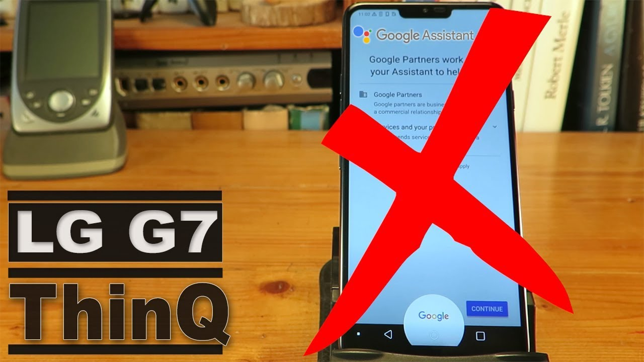 How to Remove Google Assistant from the Home button on a LG G7 ThiQ