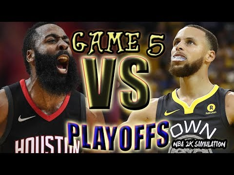 Golden State Warriors vs Houston Rockets | FULL GAME | Game 5 May 24 | FINALS CONFERENCE | NBA 2K18