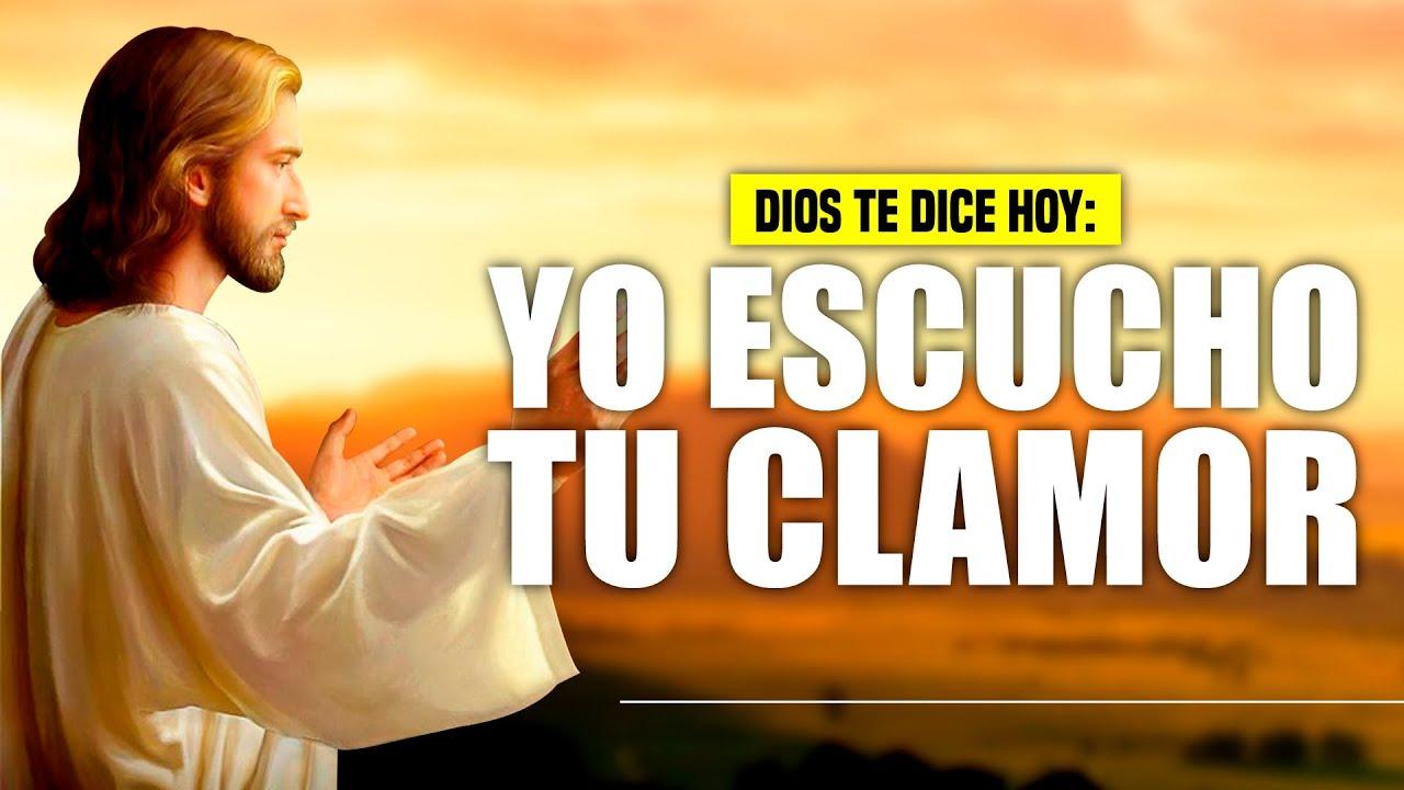 DIOS TE DICE HOY 😇 INVÓCAME EN EL DÍA DE TU ANGUSTIA Y YO TE RESPONDERÉ PORQUE YO ESCUCHO TU CLAMOR