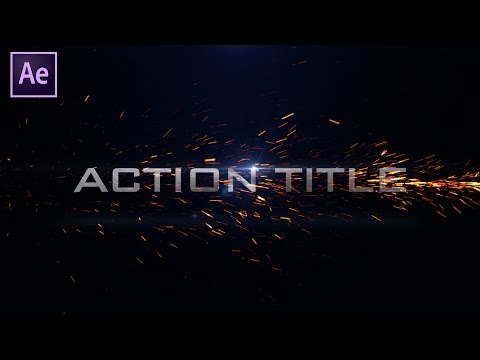 Cinematic Action Title in after effects | After Effects Tutorials | Effect for You