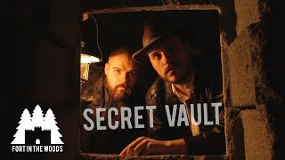 Hidden Time Capsule  | SECRET BUNKER!!  Breaking into the treasure filled vault under our home!