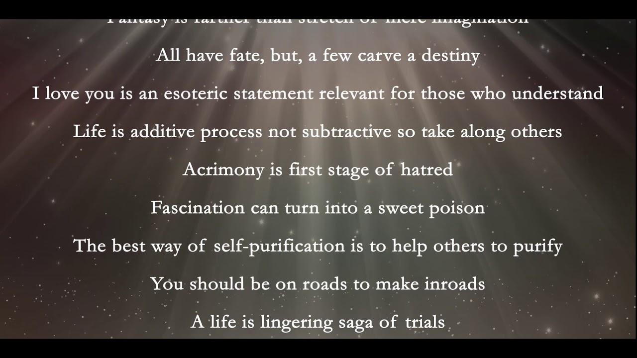 Gems Of Wisdom Quotes On Life Love Justice Karma Spiritualism