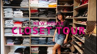 Closet Tour - NEW HOUSE UPDATE | Aimee Song