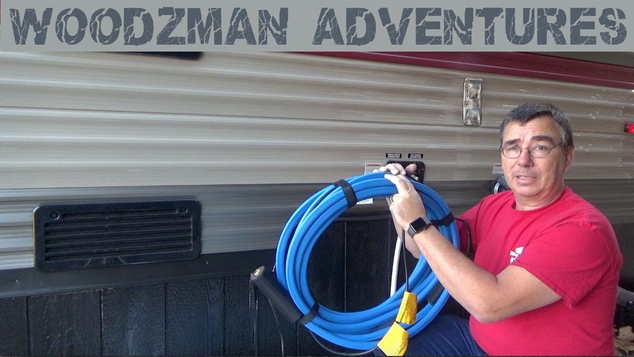 How to Keep an RV Water Hose from Freezing picture