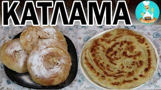 Катлама (узбекская, татарская): рецепт жаренной лепешки - как жарить на сковороде на масле и без