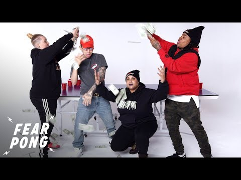 Jay Park Gets His Foot Licked In Celebrity Fear Pong | Fear Pong | Cut