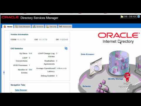 oracle internet directory  windows