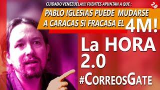 CUIDADO VENEZOLANOS!!! -  P.IGLESIAS VALORARÍA MUDARSE A CARACAS!!