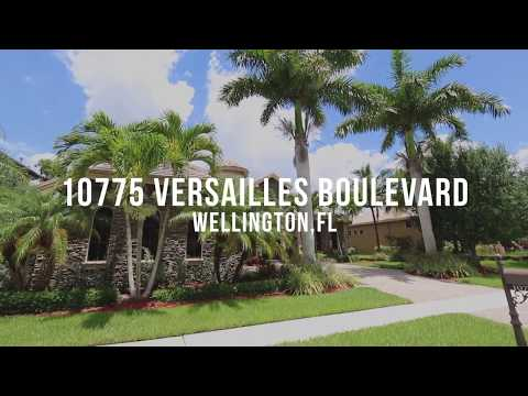 10775 Versailles Boulevard, Wellington, FL - Versailles Home For Sale