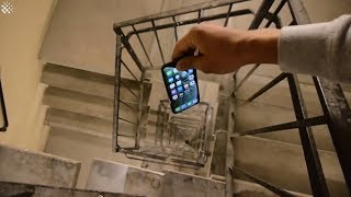 Dropping An iPhone XS Down A 300ft Spiral Staircase - How Will It Do?