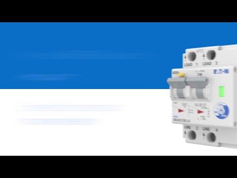Protección de circuitos contra arco eléctrico con dispositivos AFDD EATON
