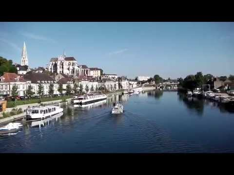 River Yonne, Auxerre, France