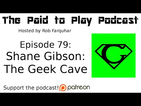 Technologist for Hire: Shane Gibson of The Geek Cave - Episode 79