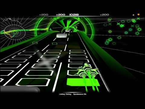 Lindsey Stirling - Spontaneous Me [Audiosurf] (HD 1080P)