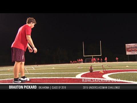 Braxton Pickard | #7 Ranked Kicker in Nation | Class of 2016