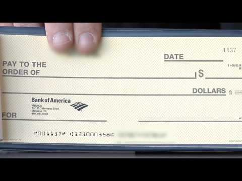 Money Management & Personal Finance : What Do the Codes on Personal Checks Mean?