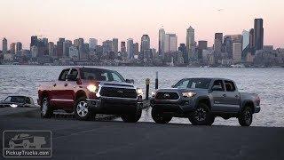 2018 Toyota Tundra Vs. 2018 Toyota Tacoma — PickUpTrucks.com