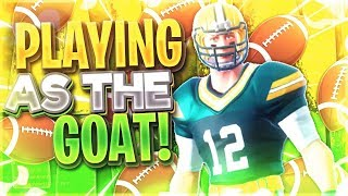 *NEW* NFL SKINS - Playing as the GOAT! - Fortnite Battle Royale
