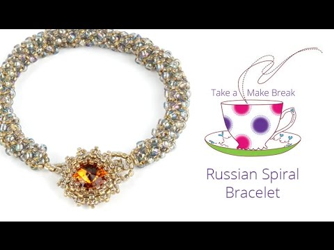 Russian Spiral Bracelet | Take a Make Break with Sarah