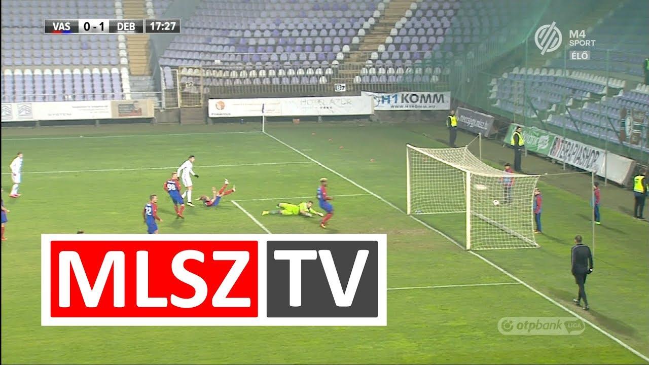 Takács Tamás gólja  a Vasas FC - DVSC mérkőzésen