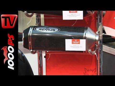 Remus Scooter ESD -2014 Vespa GTS