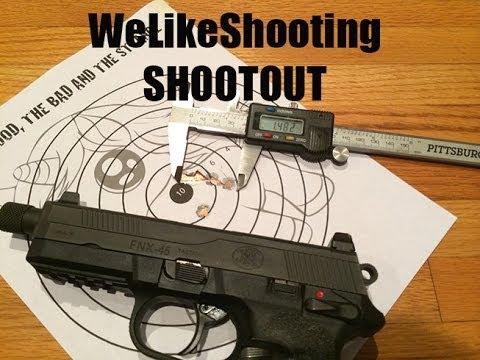 WELIKESHOOTING Shootout : FNX-45 Tactical