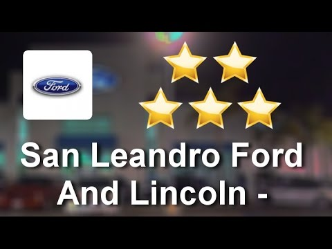 san leandro ford and lincoln spanish san leandro. Black Bedroom Furniture Sets. Home Design Ideas