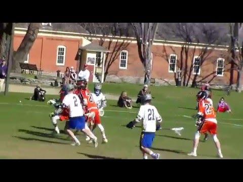 Gould Academy VS Vermont Academy Goalie