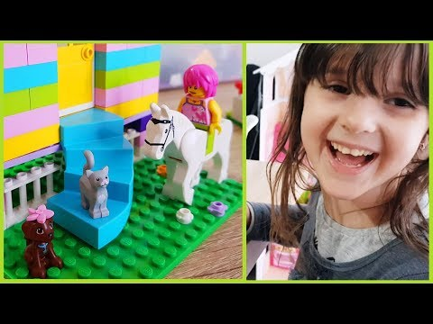 Le nostre casette con i Lego