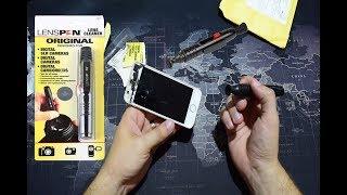 Распаковка C АЛИЭКСПРЕСС карандаш для чистки оптики(LENSPEN) и пшикалка