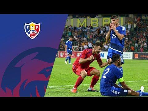Moldova U-21 - Cipru U-21 2-1 // Meci Amical, 09.08.2017