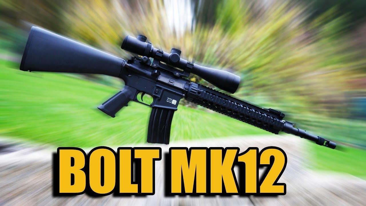 AIRSOFT TEST BOLT MK12 SPR [DE/4K]