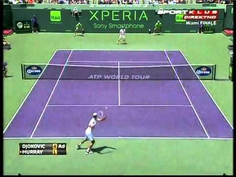 Novak Djokovic vs Andy Murray - ATP Miami 2012. FINAL Highlights