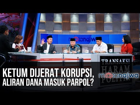 Transaksi Haram Politik: Ketum Dijerat Korupsi, Aliran Dana Masuk Parpol? (Part 3) | Mata Najwa