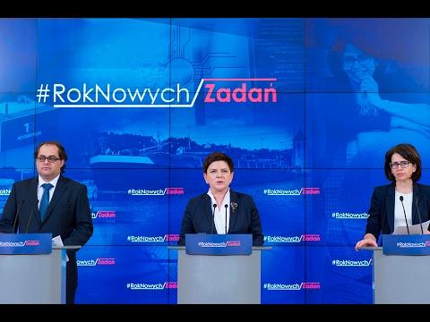 #RokNowychZadań: konferencja prasowa ministrów MC i MGMiŻŚ