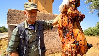 Download Morocco Village Food - BERBER PIT ROAST LAMB in Imlil! Eating NORTH AFRICAN Food in Morocco!! Mp3 and Videos