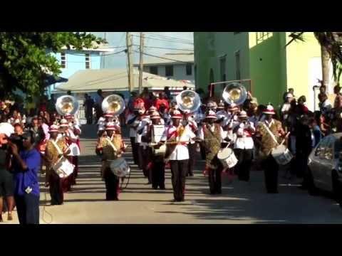 Royal Bahamas Police Force Marching Band (part 1): 60th National Family Island Regatta