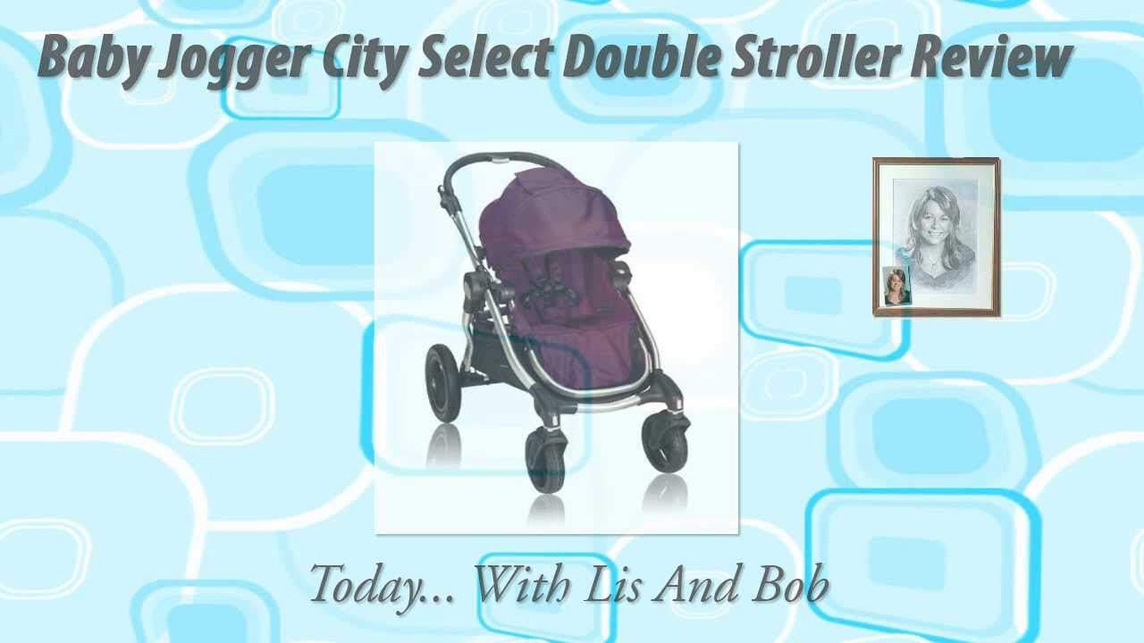 Baby Jogger City Select Double Stroller Review - YouTube
