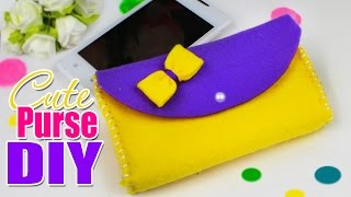 DIY PURSE WALLET & PHONE CASE EASY TUTORIAL